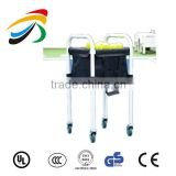 foldable tennis ball carrier 4 wheels protable tennis ball cart