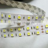 double row 28.8w 5050 120 leds strips LED 5m 12v with ww/cw/red/green/blue/yellow/RGB options
