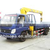 Good quality foton 4tons new truck with crane