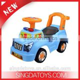 New Arrival ! Funny Multicolor Baby Slide Walkers Plastic Car Toys