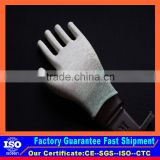 Carbon Fiber General assembly esd glove Light engineering work esd glove from China manufacture wiht cheap price
