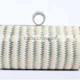 OEM YIWU factory best selling fashiona straw indian ladies evening bags
