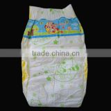 printed cute disposable baby diaper with magic tape