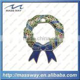 promotion imitation hard enamel custom 3D metal pin badge