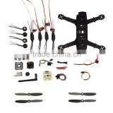QAV250 Racing FPV Quadcopter Carbon Frame Kit Unassembled with AV Transmitter Camera DIY Drone