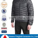 Durable Water Repellent finished shell fabric 600 fill power down insulation best down jacket