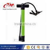 Cheap portable bike pump for bike tire /aluminum alloy bicycle pump with gauge / floor pump mini