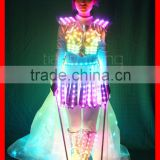 TC-132 colorful led light isis wings for dance,DMX 512 controlled dance costumes isis wings,led wings for girl