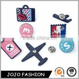 Airplane Collar Multi-designs Brooch Pins Women Gift Men Jewelry Aircraft Cartoon Plane Badge Accessories