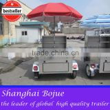 2015 hot sales best quality big hot dog cart double door hot dog cart mini hot dog cart