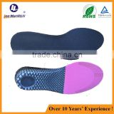 Adjustable foot pad lady height increase PU gel insoles height increase 5 layers silicone shoe-lifts insoles