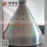 large stainless steel hopper for food depositingMetal spinning machine automatic spinning machine