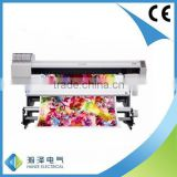 Digital direct textile printer with EPSON DX5 printhead TC1802