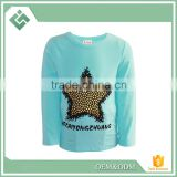 Beauty Boy Autumn And Spring Star Kids Baby Boy Long Sleeve T Shirt Children Fashion Tees T Shirt Ages2-7Y