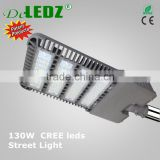 Die cast aluminum body size 19.5''*9.4''*2.4'' street light fixture ip65 waterproof 65w 90w 130w street led light from zhongshan