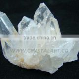 CLEAR CRYSTAL QUARTZ CLUSTER