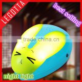 Newest style children toy gift night ligh novel fancy voice activated led light innovative multifunctional night lamp