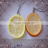Fake Orange Slice Keychain/Handbag Pendant