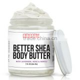 Whipped Body Butter with Lavender, Rose and Neroli. Moisturizing, Fast-Absorbing, Luxurious