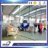Extruded Fried Wheat Pellets Bugles Making Machine/3D Flour Bugles Chips Production Line