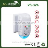 visson X-pest VS-326 electric plug mosquito killer anti cockroach trap ultrasonic insect killer