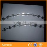 Concertina Razor Barbed wire with 450mm coil diameter/ 900mm coil diameter Blade type BTO22 CBT60 CBT65