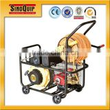 widely used for garden and orchard Power sprayer set with gasoline engines 3plunger pumps