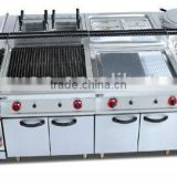 stainless Gas Combination Kitchen equipment/hotel 0086-13580546328