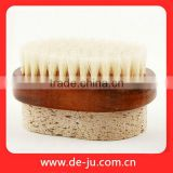 Wood Handle Brush For Foot Bath Products Body Care Pumice Brush