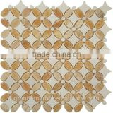 High Quality Honey Onyx Mosaic Tiles For Bathroom/Flooring/Wall etc & Mosaic Tiles On Sale With Low Price