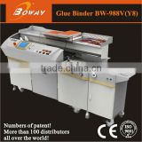 photographic studio 988V Y8 creasing on-line auto side glue perfect photo book making machine