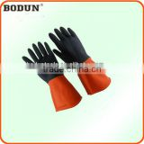 A3023 double color rubber House Glove house cleaning glove