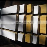 SLotted wood mdf panel