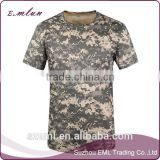 Men fashion camouflage outdoor quick dry breathable printing T-shirt