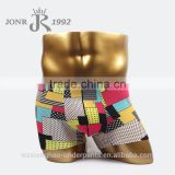Newest style boxer bamboo fiber and spandex boy sexy underwear