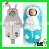 Cartoon Infant Baby Sleeping Bag Kids Nursery Swaddling Blankets Photo Prop Outfits