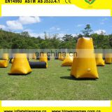 Hight quality and popular inflatable paintball bunkers equipment
