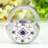 POPULAR SALE GLAMOROUS CHARM DIAMOND CRYSTAL METAL HAND BAG HANGER