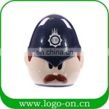 Unique British Policeman Piggy Bank Children's Ceramic Coin Bank