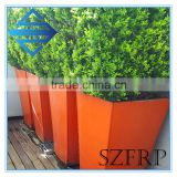 Large tall fiberglass planters wholesale