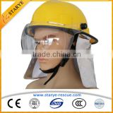 CE Standard Fireman Protective Firefighting Helmet Korean Type Fire Helmet                                                                         Quality Choice