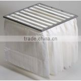 fabric for dust collection bag central air conditioning replacement pocket dust ahu bag filter