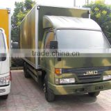 4ton JMC cargo van truck with tail lift platform