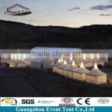 20x60m Cheap big glass wall hard shell roof top tent for hotel