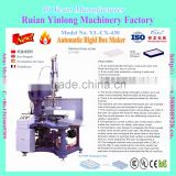 YL-CX-420 Model Automatic Book-Shape Box Making/Forming Machine/New Auto-matic Rigid Box Making Machine with CE certificate