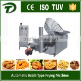 automatic french fry machine with gas heating