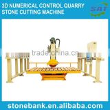 3D Numerical control quarry stone cutting machine (SPLIT STYLE)