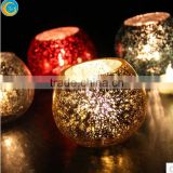 coins bowl glass candle holder for wedding ddecoration for home decor
