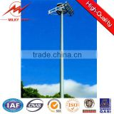 16*2000w lights weight and high strength High Mast Light Pole for stadium