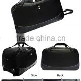 Hot sale high quality promotional Travel Trolley duffle bag polyester blue colour big size